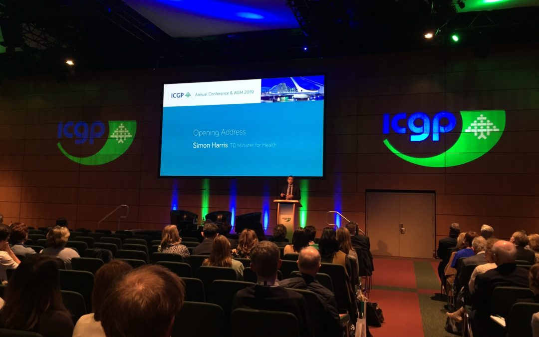 Minister for Health addresses ICGP Annual Conference in Dublin