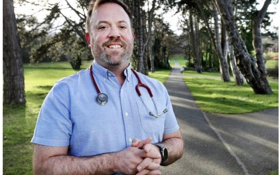 Dr Darach O'Ciardha advocates for social prescribing