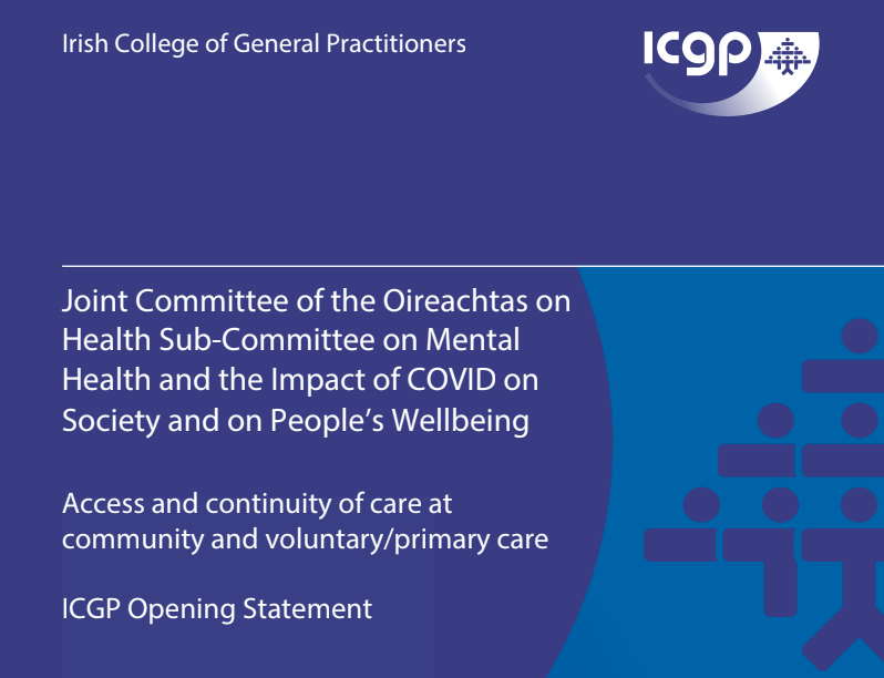 Pandemic has created huge challenges in supporting vulnerable patients with mental health conditions, says ICGP